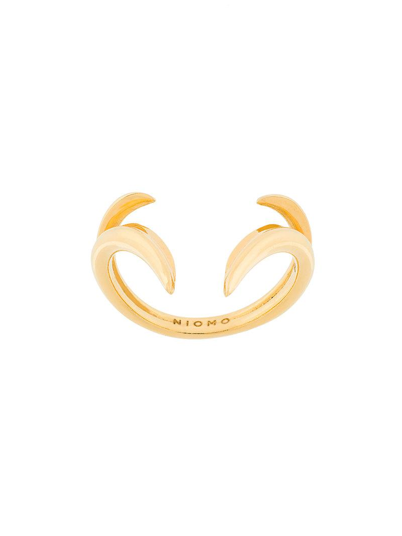 Niomo Nypa ring - Metallic x1W86qfQV