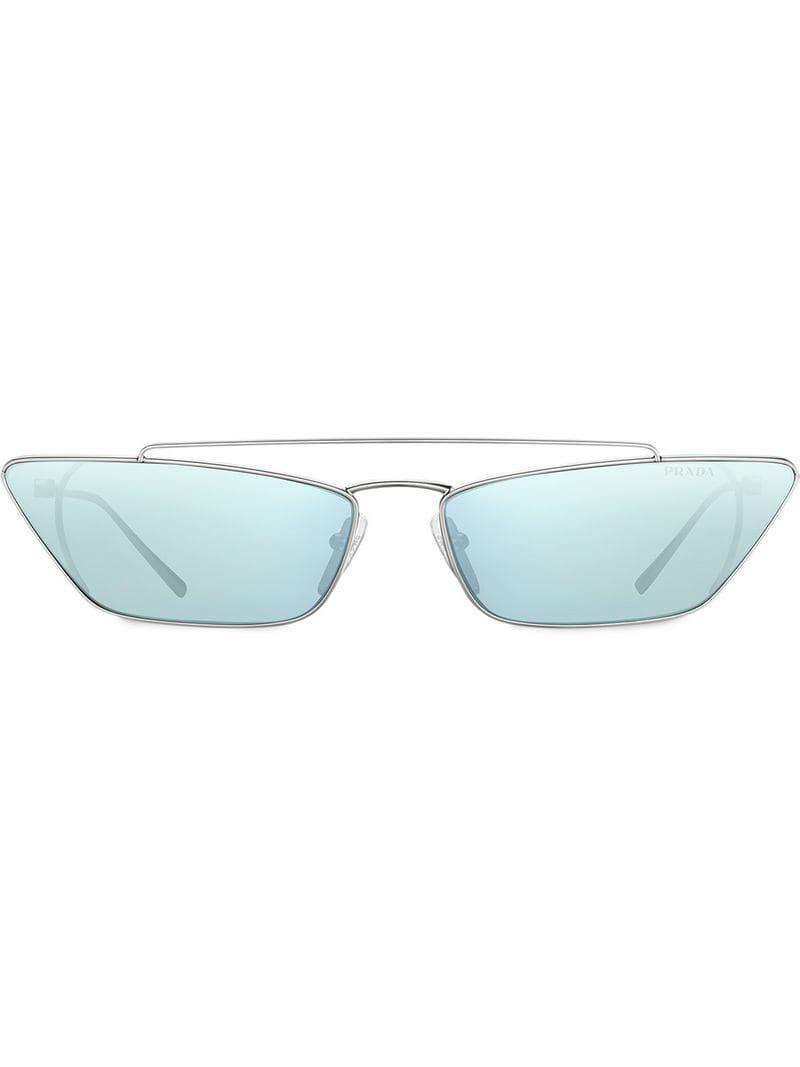 fd932198d20 Lyst - Prada Prada Ultravox Sunglasses in Metallic