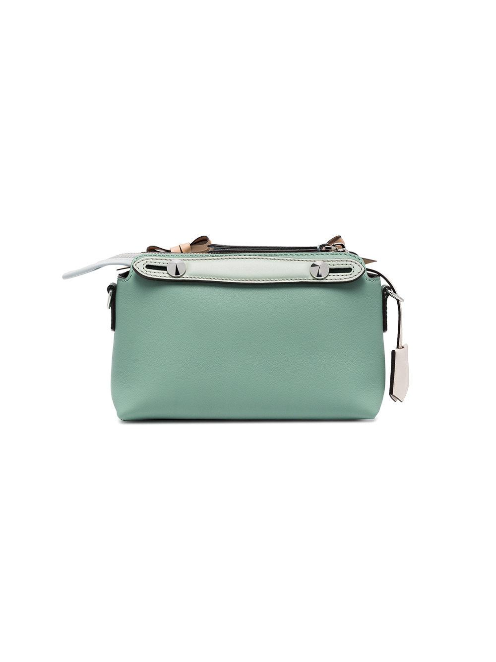 650a17617621 Fendi Green By The Way Mini Leather Bag in Green - Lyst