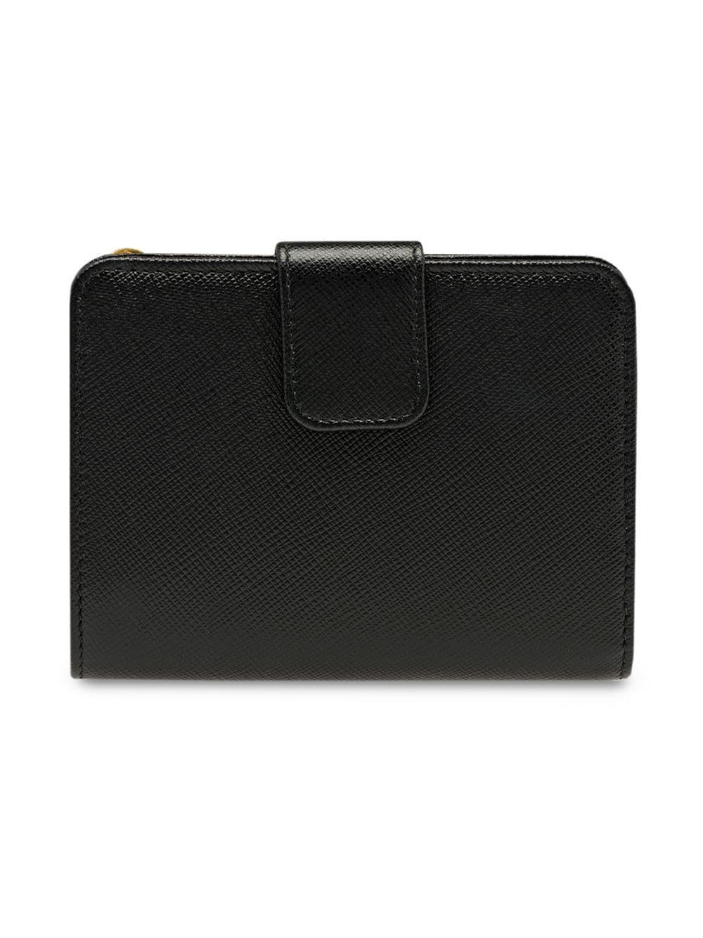 8c4ca837db1f Prada - Black Logo Zipped Wallet - Lyst. View fullscreen