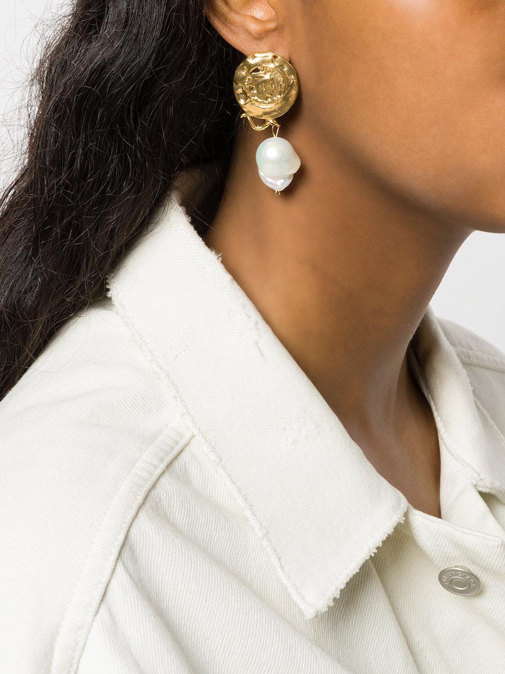 ALIGHIERI La Passione Di Napoli earrings - Metallic uBUwJkZyF