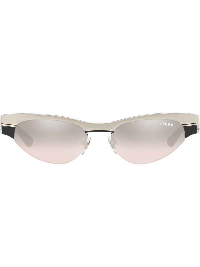Low Lyst Vogue Sunglasses Metallic Frame Eyewear In q77v5P8w