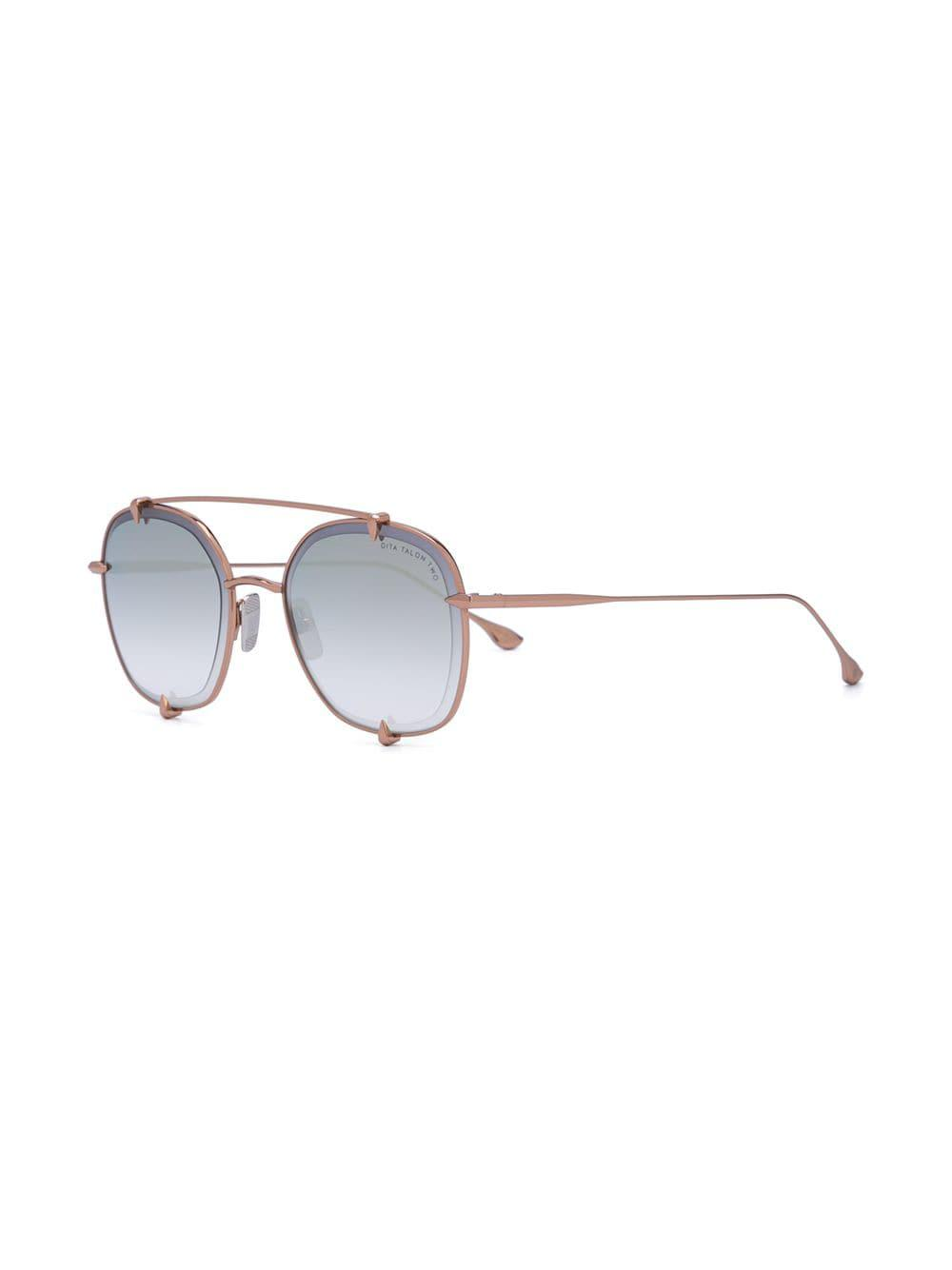 be6aebc99ee Dita Eyewear Double Bridge Sunglasses in Metallic - Lyst