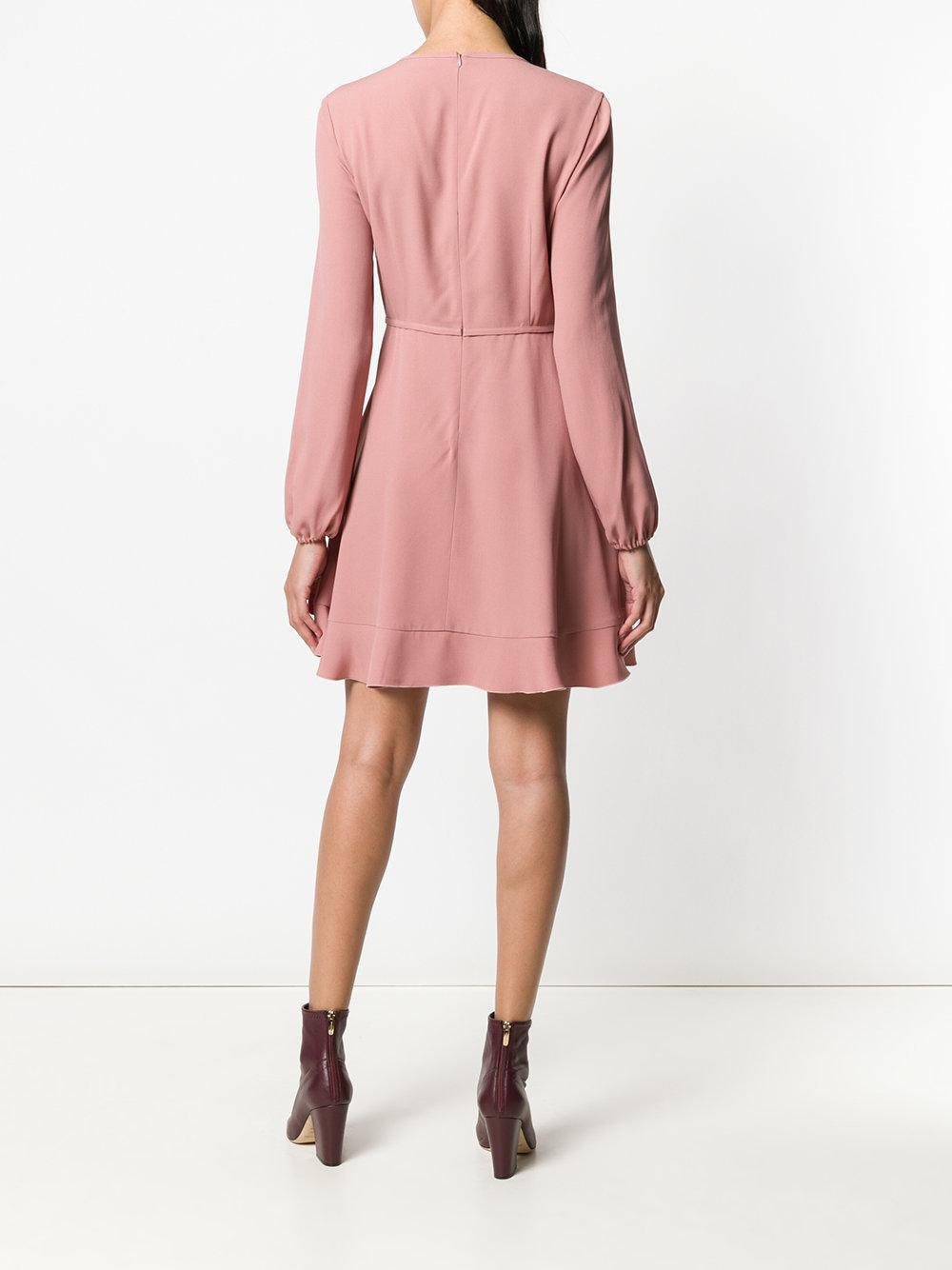 Discount Visit New Pictures Cheap Online bow-front skater dress - Pink & Purple Red Valentino Amazing Price For Sale Shop Offer Sale Online Best Seller Sale Online hH02W4X