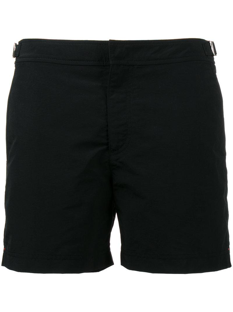 e2a57b8f53 Orlebar brown Setter Swim Shorts With Side Buckle in Black for Men ...