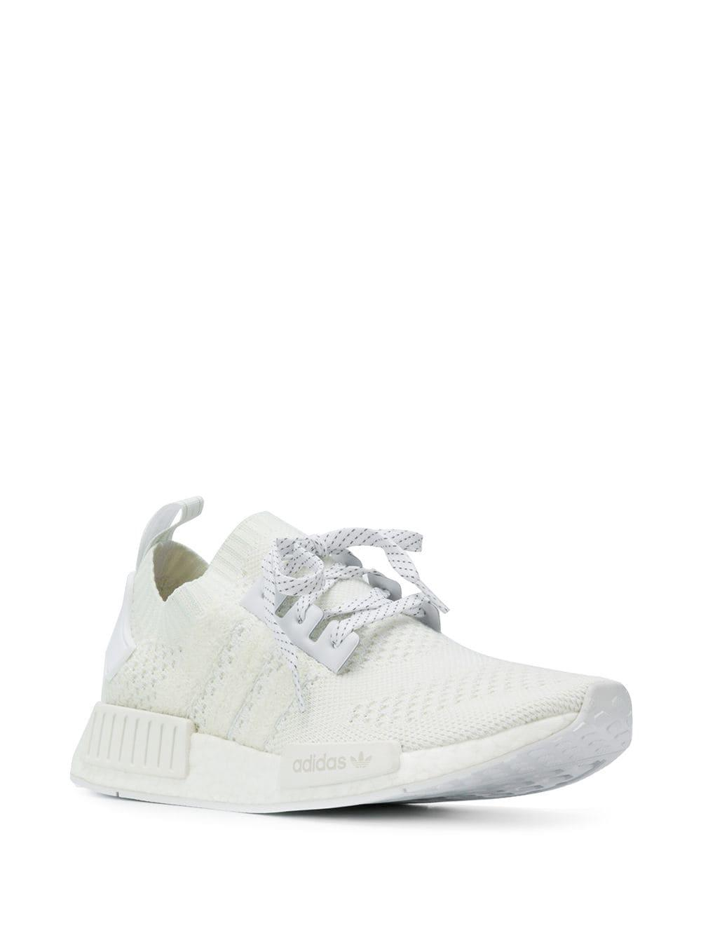 1ab48424dc4c5 adidas Nmd R1 Sneakers in White for Men - Lyst