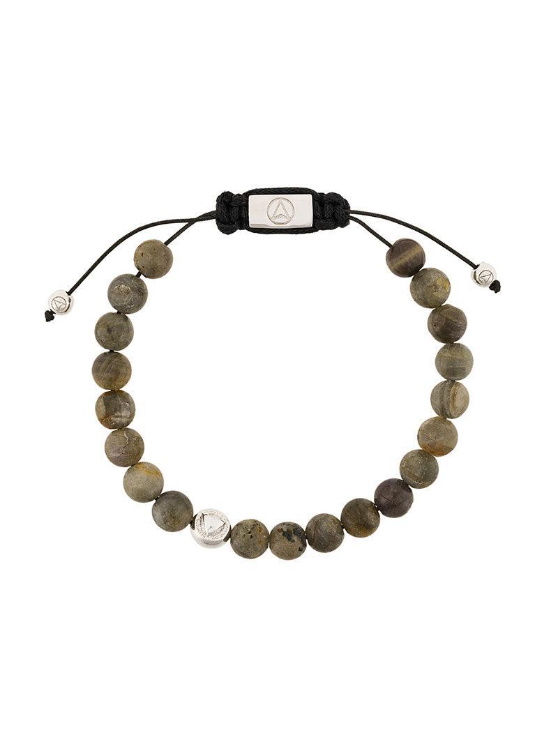 Northskull Picture Jasper Insignia bracelet - Grey mZkZZ2t