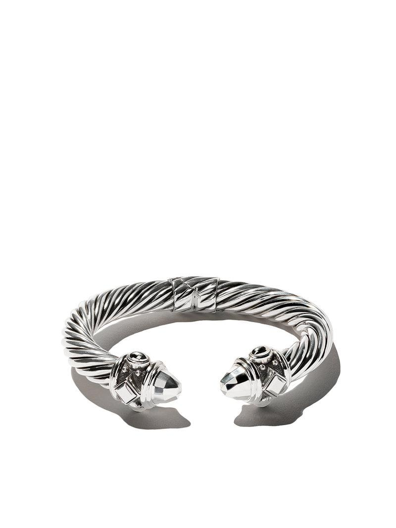 David Yurman Renaissance Cable cuff bracelet - Metallic