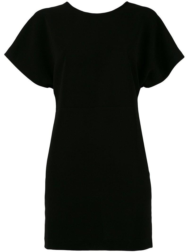 Lyst - Mini-robe lacée dans le dos Iro en coloris Noir 8ce93d31b81f