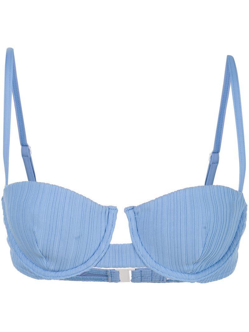 930c41033845d Lyst - Onia Dalia Bikini Top in Purple