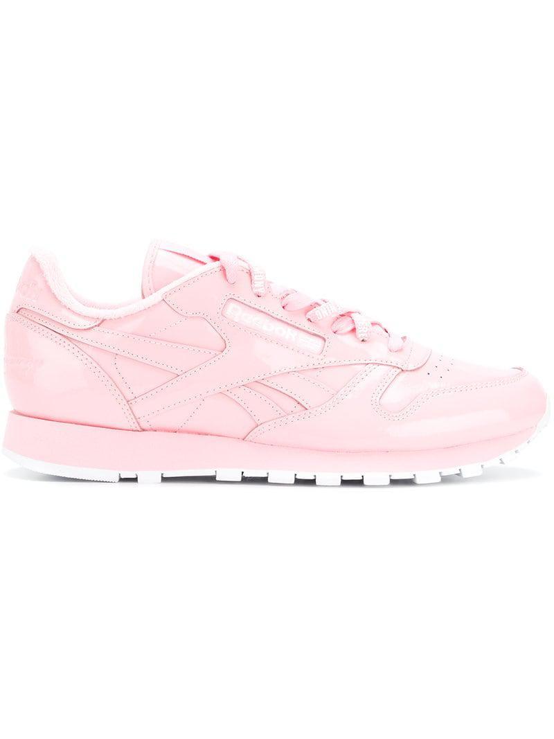ba6e63f98e22 Lyst - Reebok Low Top Sneakers in Pink