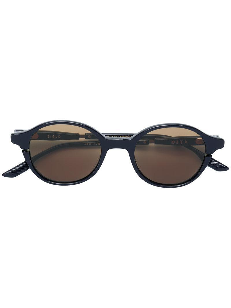 ef0e4a177c8a Dita Eyewear Siglo Sunglasses in Black - Lyst