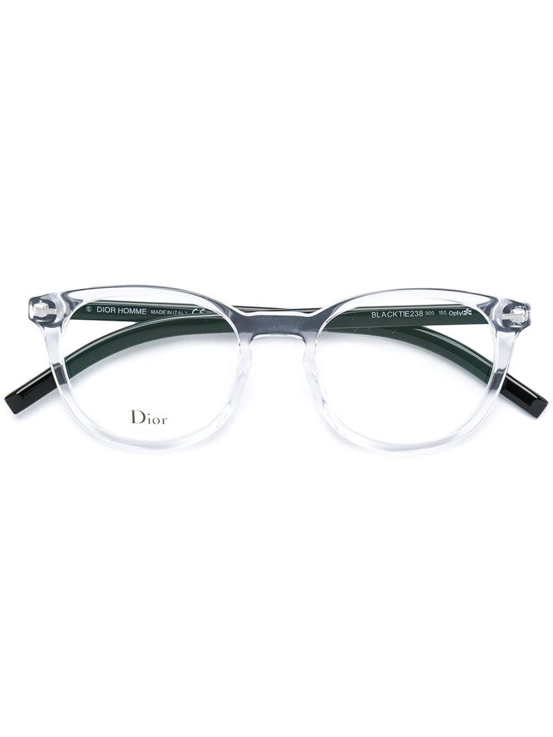 4ef7bda974 Lyst - Dior Black Tie 238 Glasses in Black
