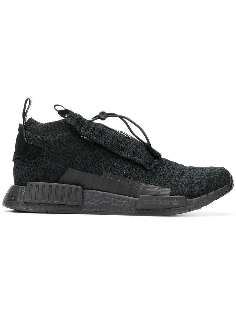 481773a64 Adidas - Black Nmd Ts1 Pk Gore-tex Primeknit Sneakers for Men - Lyst. View  fullscreen