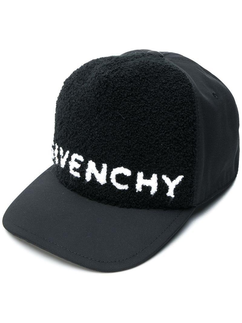 4cbb4aeb030 Lyst - Givenchy Logo Cap in Black for Men