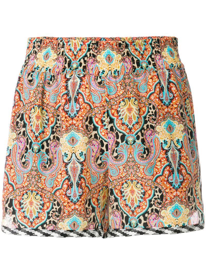 bohemian print shorts - Multicolour Etro eJBw63N97