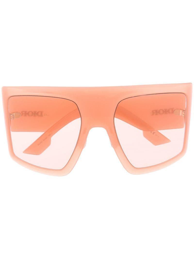 7567b09986 Lyst - Dior Diorsolight1 Sunglasses in Pink