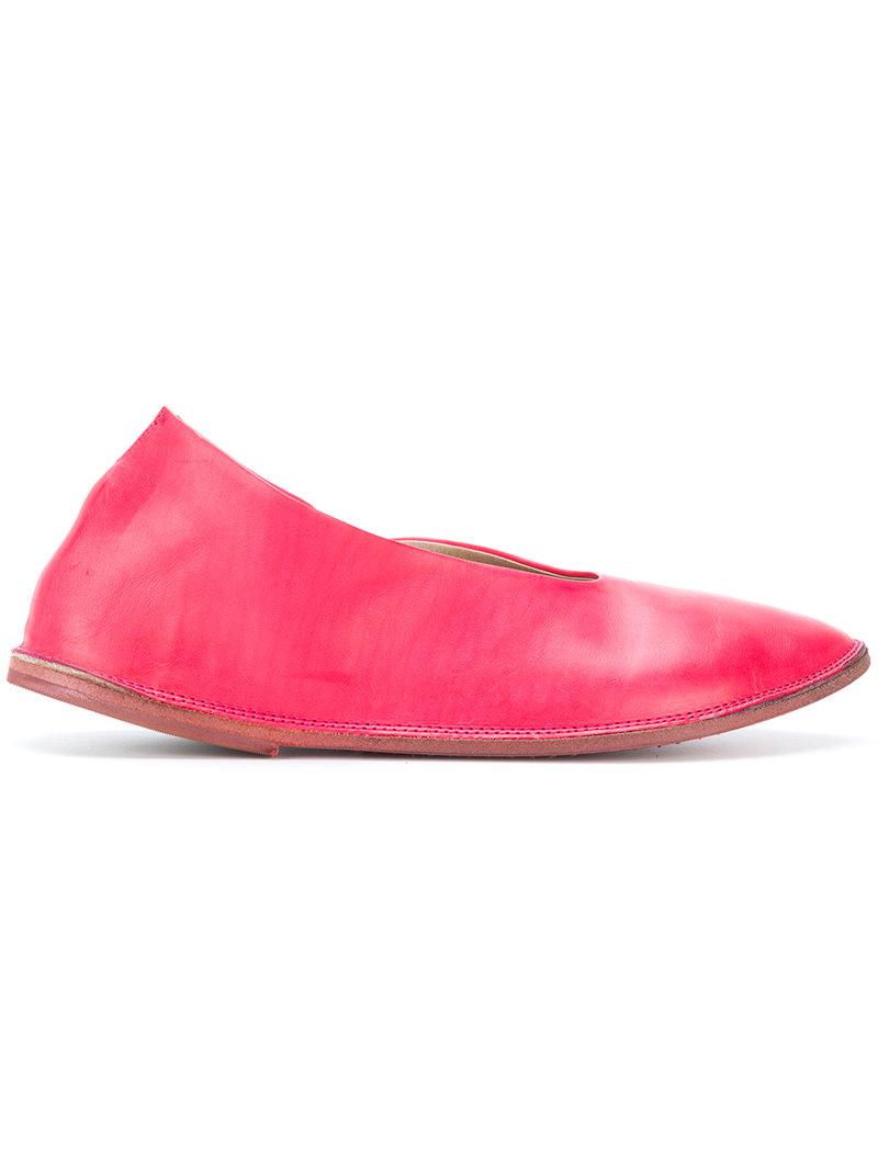 pointed ballerina shoes - Pink & Purple Mars FunBEdEgO