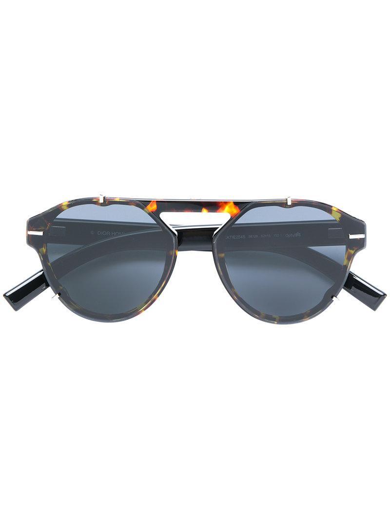 soleil de homme Noir Lyst pour en Tie Black Lunettes coloris Dior 4OxqSF bf59c5da1ab3