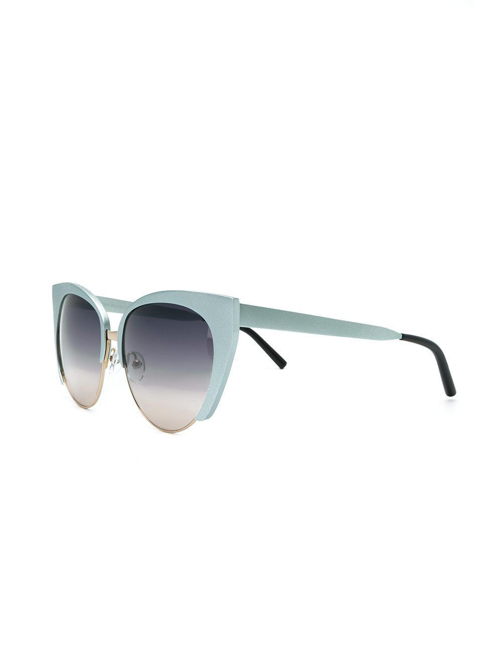 3ebb263a25d1 Matthew Williamson - Blue X Linda Farrow Cat-eye Sunglasses - Lyst. View  fullscreen