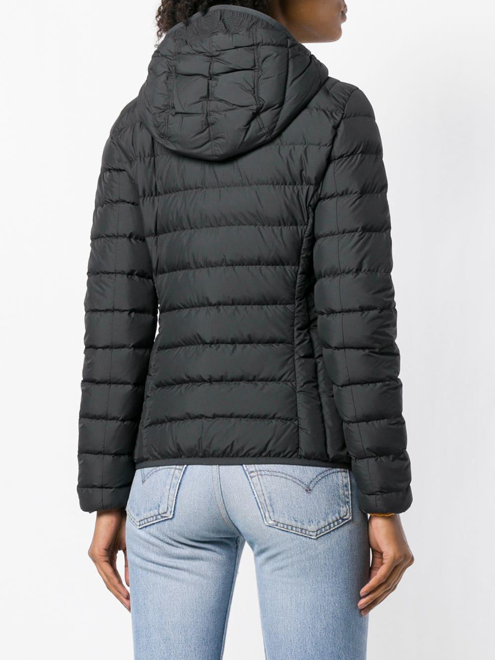 Parajumpers - Black Hooded Puffer Jacket - Lyst. View fullscreen