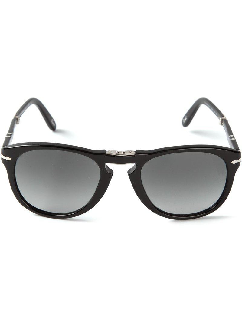 e8ed034924 Persol Foldable  steve Mcqueen  Sunglasses in Black for Men - Lyst