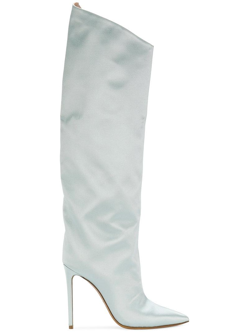 aa5aee9fbfe Alexandre Vauthier Alex Boots in Green - Lyst