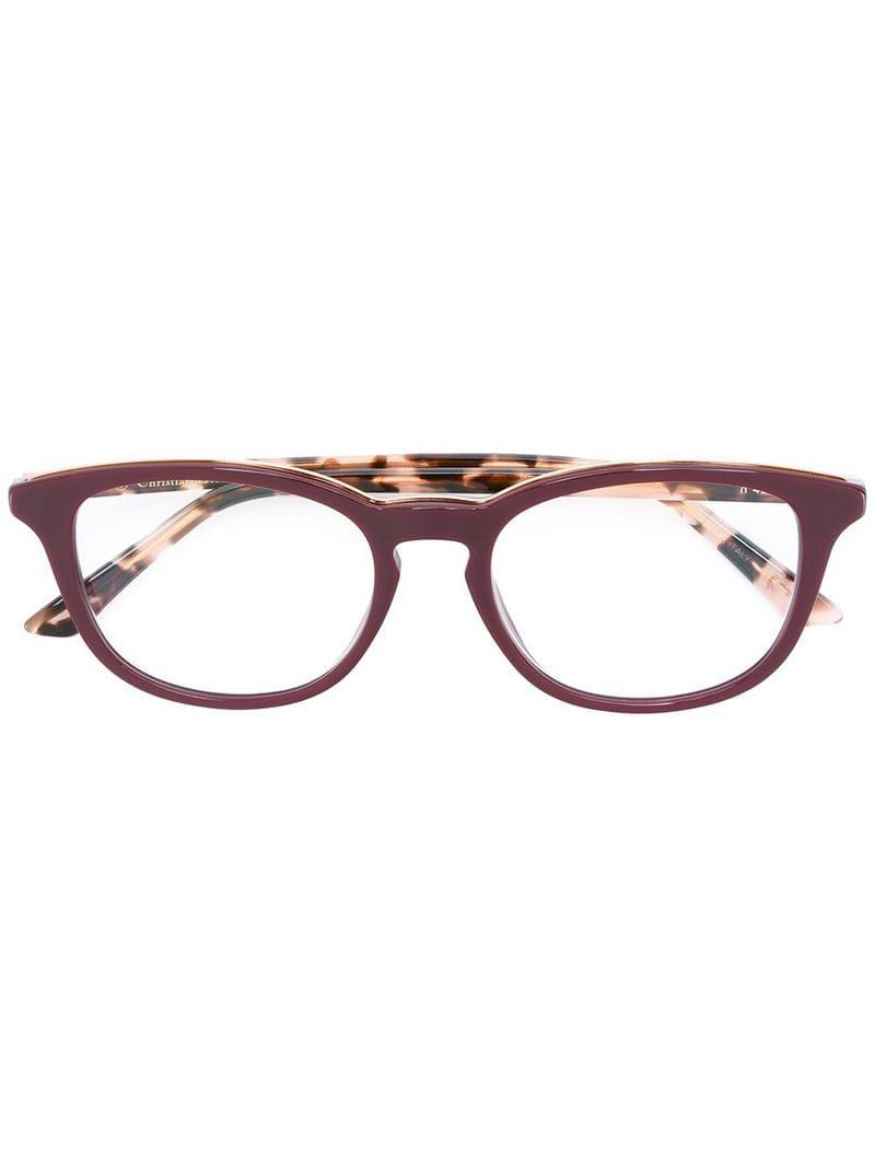 cdca962c76d Dior  montaigne  Glasses in Pink - Lyst