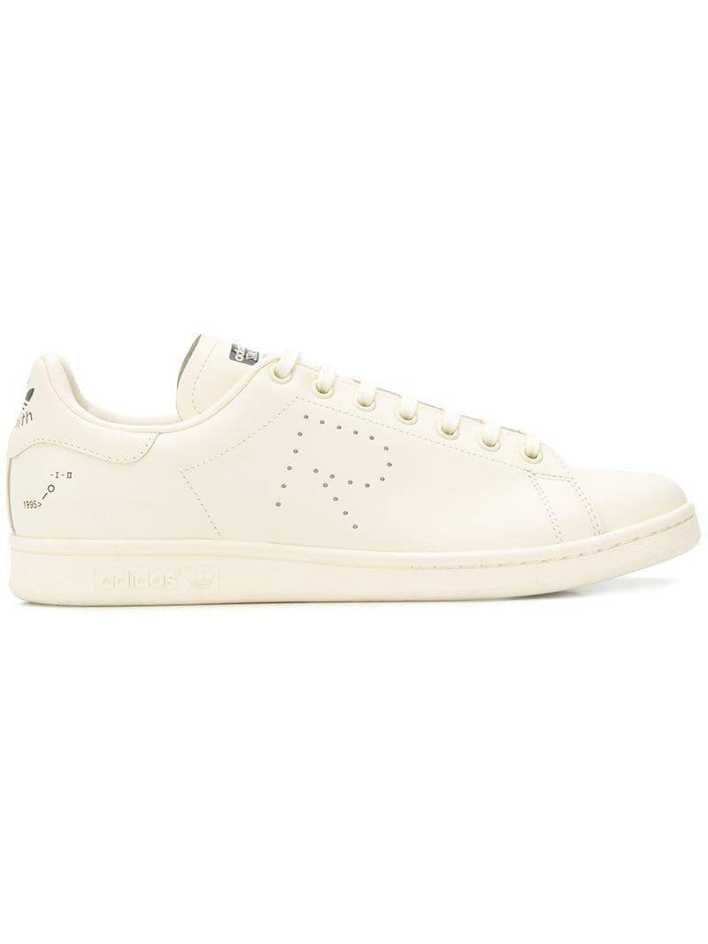 ff5a93b653e9c0 Lyst - Adidas By Raf Simons Low-top Sneakers in Natural