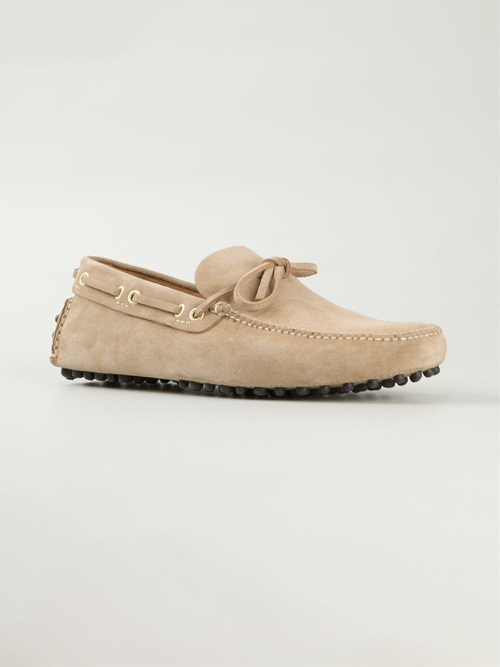 slip-on driving loafers - Nude & Neutrals Car Shoe Cheap Sale Pay With Paypal How Much For Sale Discount Really Best Store To Get Cheap Online Clearance Online Amazon MaTwf