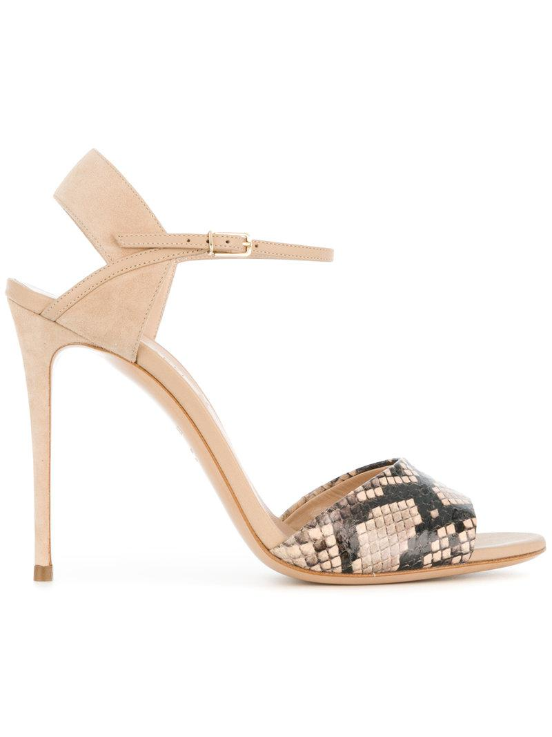 sale 2015 Casadei snakeskin sandals fake cheap price 3tpUOuXFN