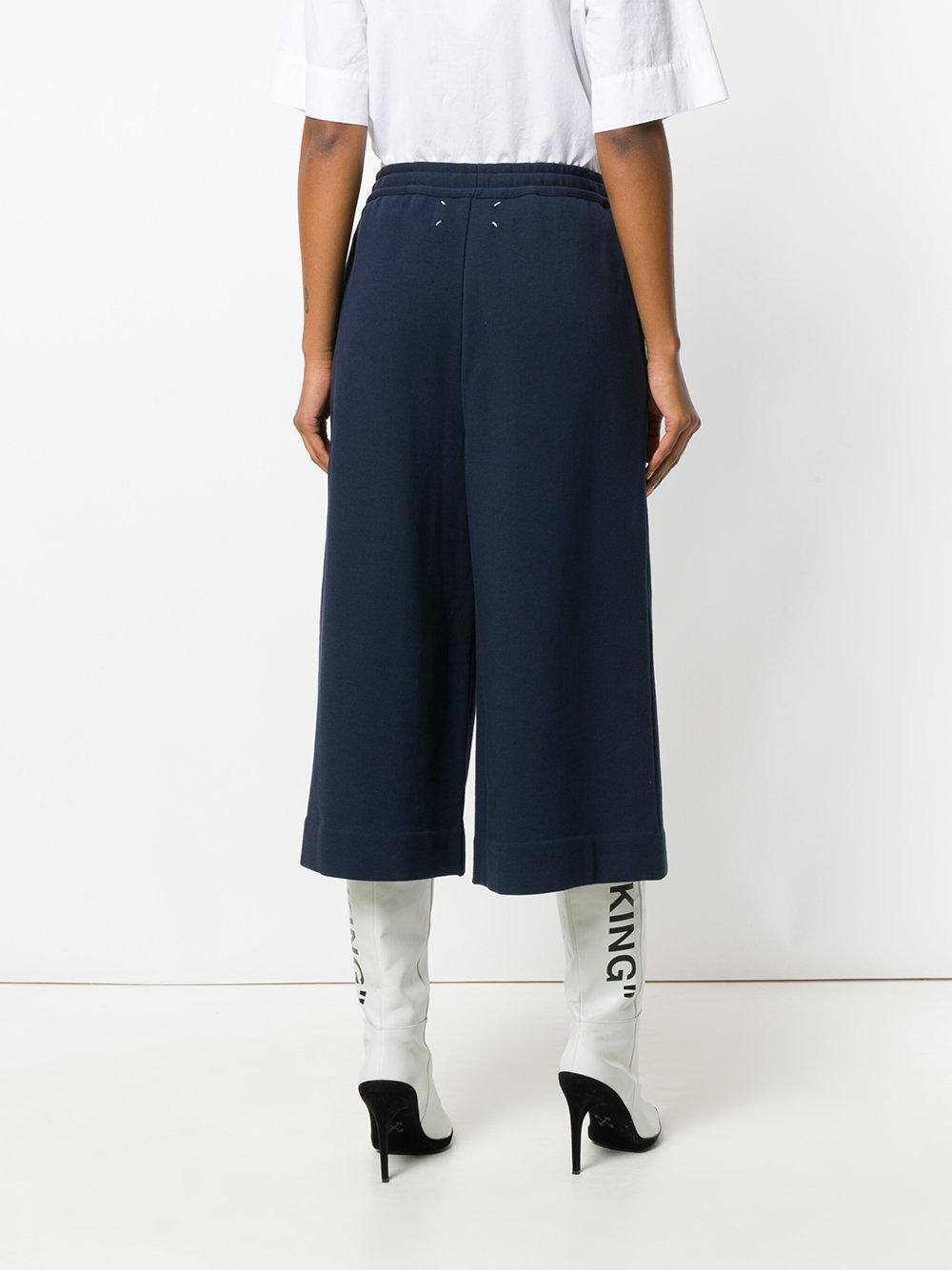 cropped sweatpants - Blue Maison Martin Margiela kmwIb