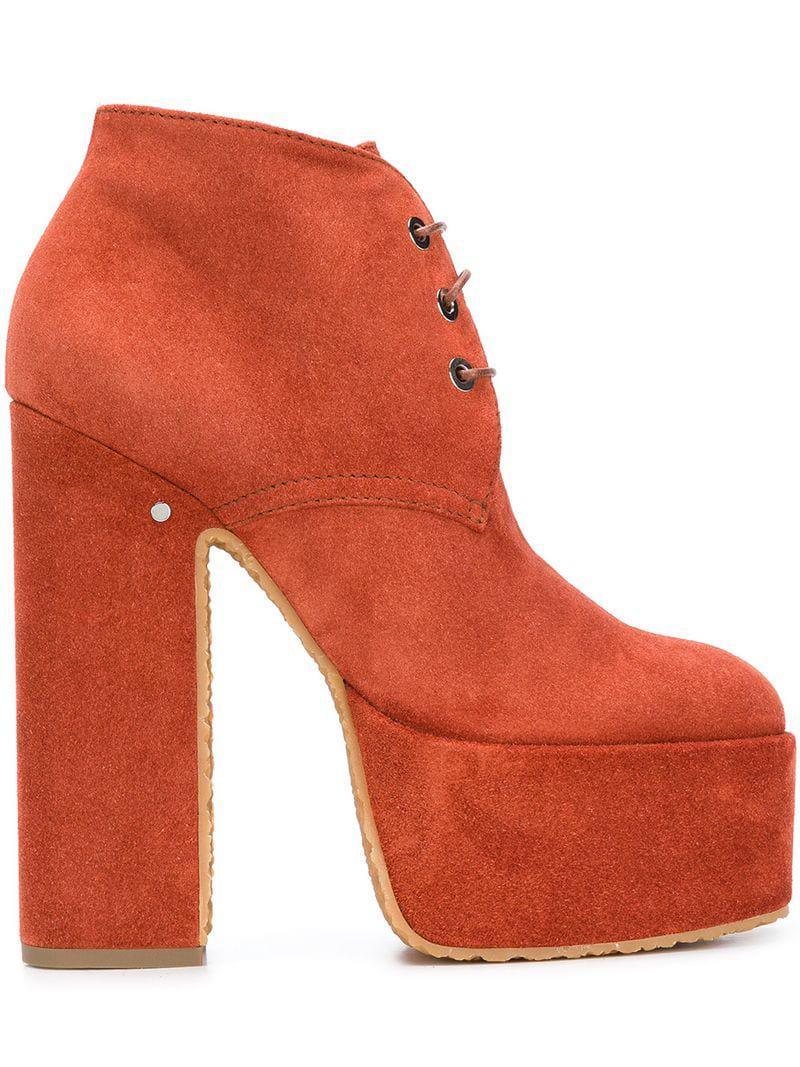 Lyst Ankle In Yellow Platform Laurence Dacade Boots gwCrgzZq