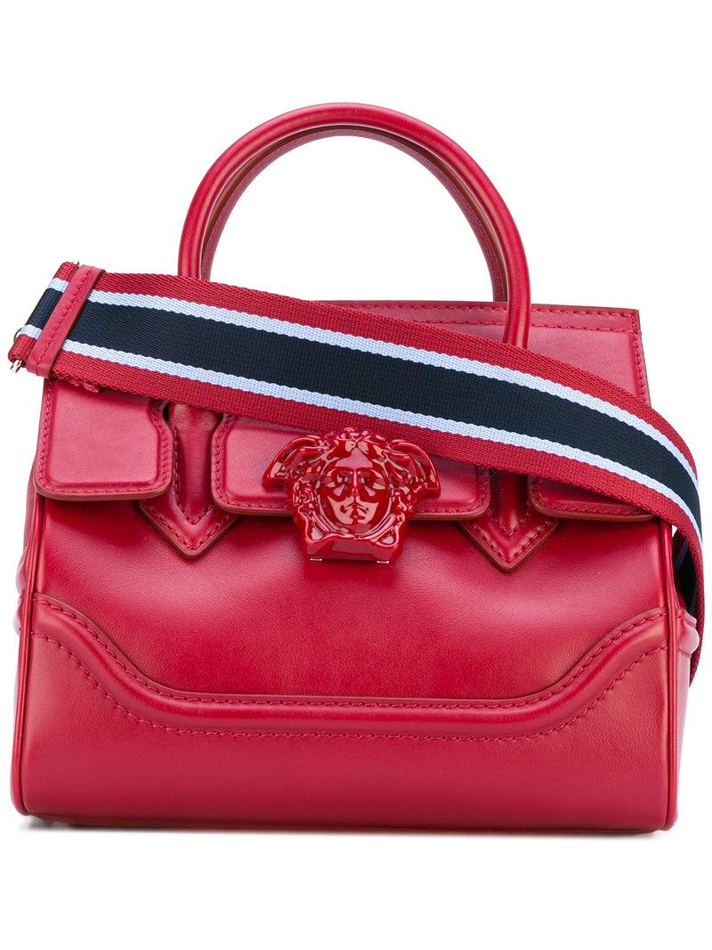 cf7fb5466e Versace Palazzo Empire Shoulder Bag in Red - Lyst