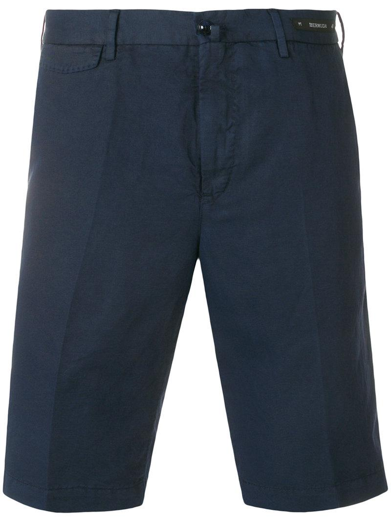 bermuda shorts - Blue PT01 gAdWAyD4r