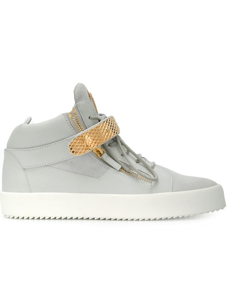 Archer high top sneakers - Grey Giuseppe Zanotti TZIaCMKczw