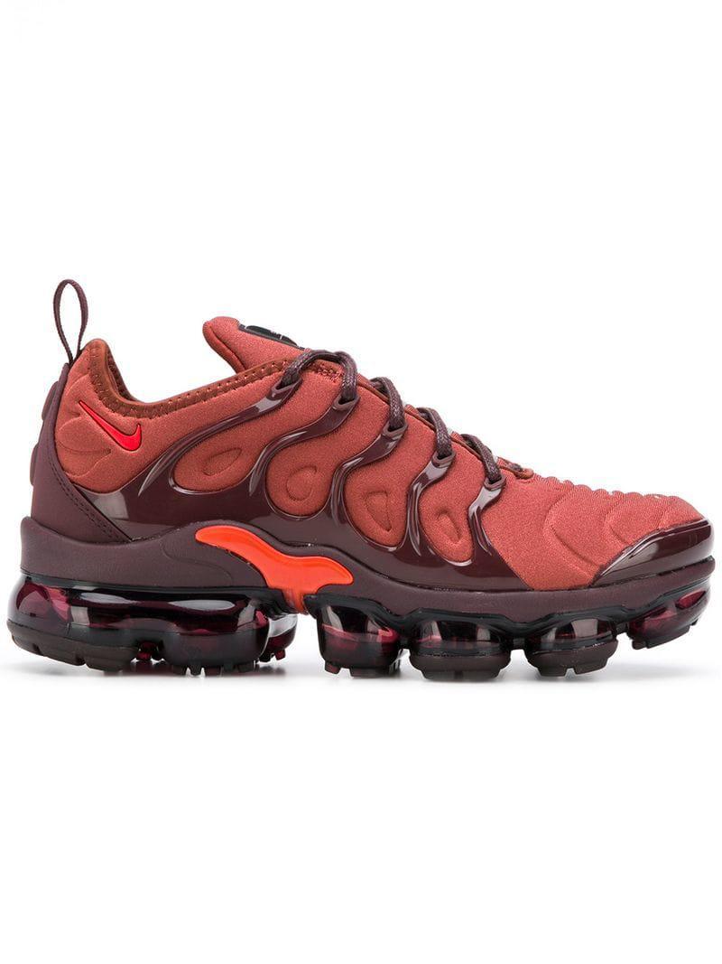 22dc0abdb418 Lyst - Nike Air Vapormax Plus Sneakers in Orange - Save 25%