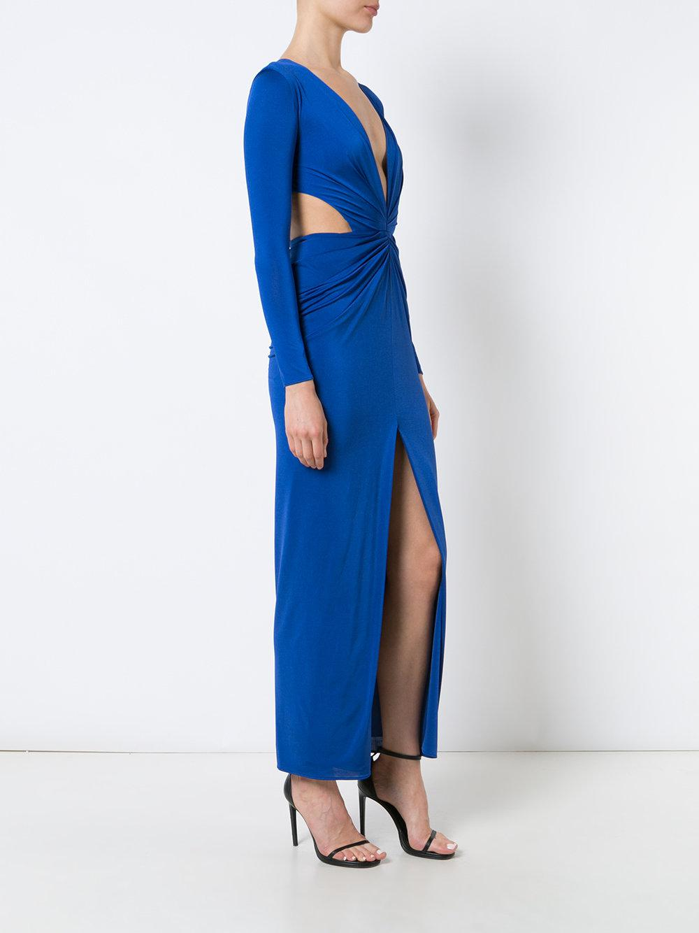 Outlet Shop Offer Scarlett dress - Blue Haney Quality From China Cheap MG8JxltU