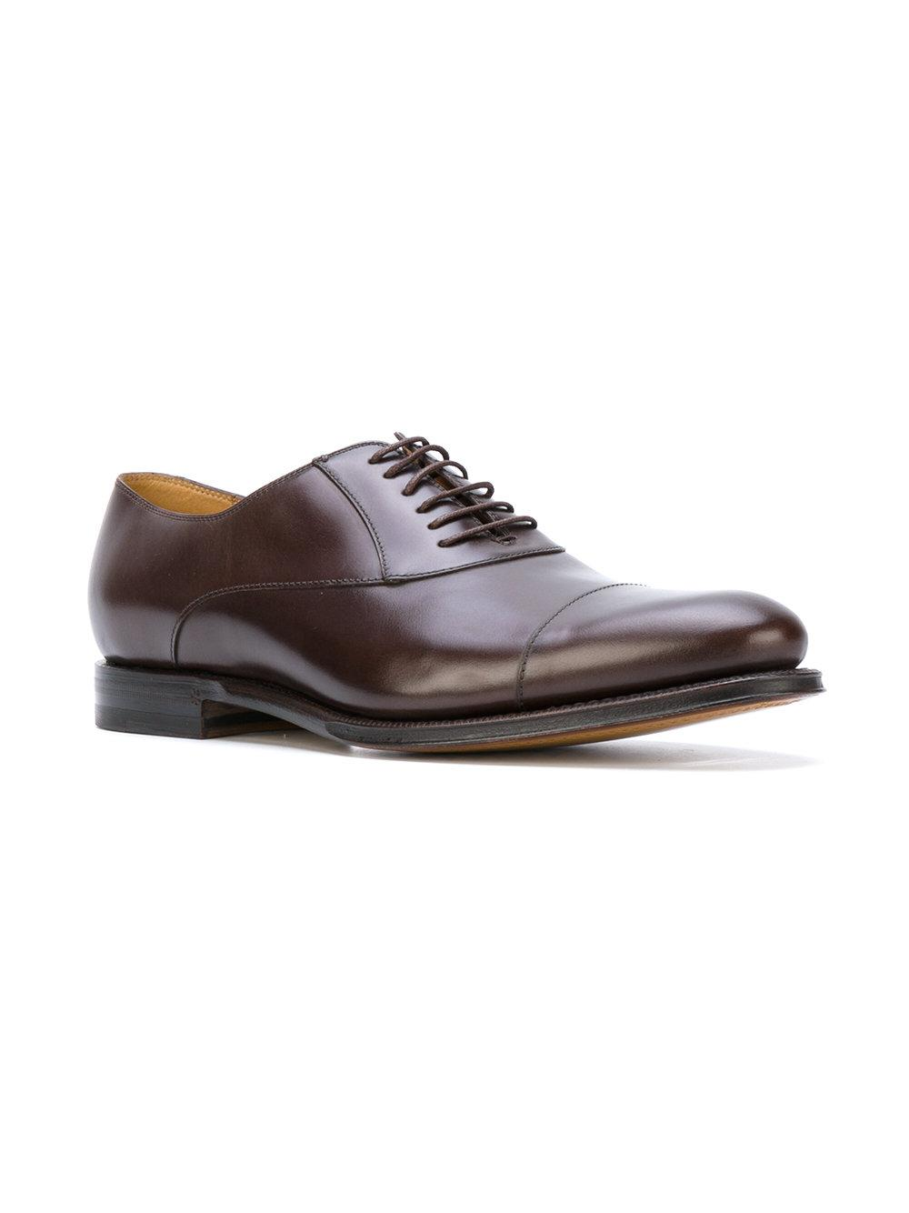 cbfb7a6f2 Gucci Lace Up Shoes in Brown for Men - Lyst