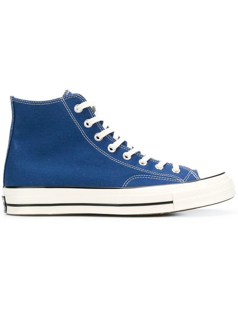 Converse Hi-top Sneakers in Blue for Men - Lyst 92520ae56