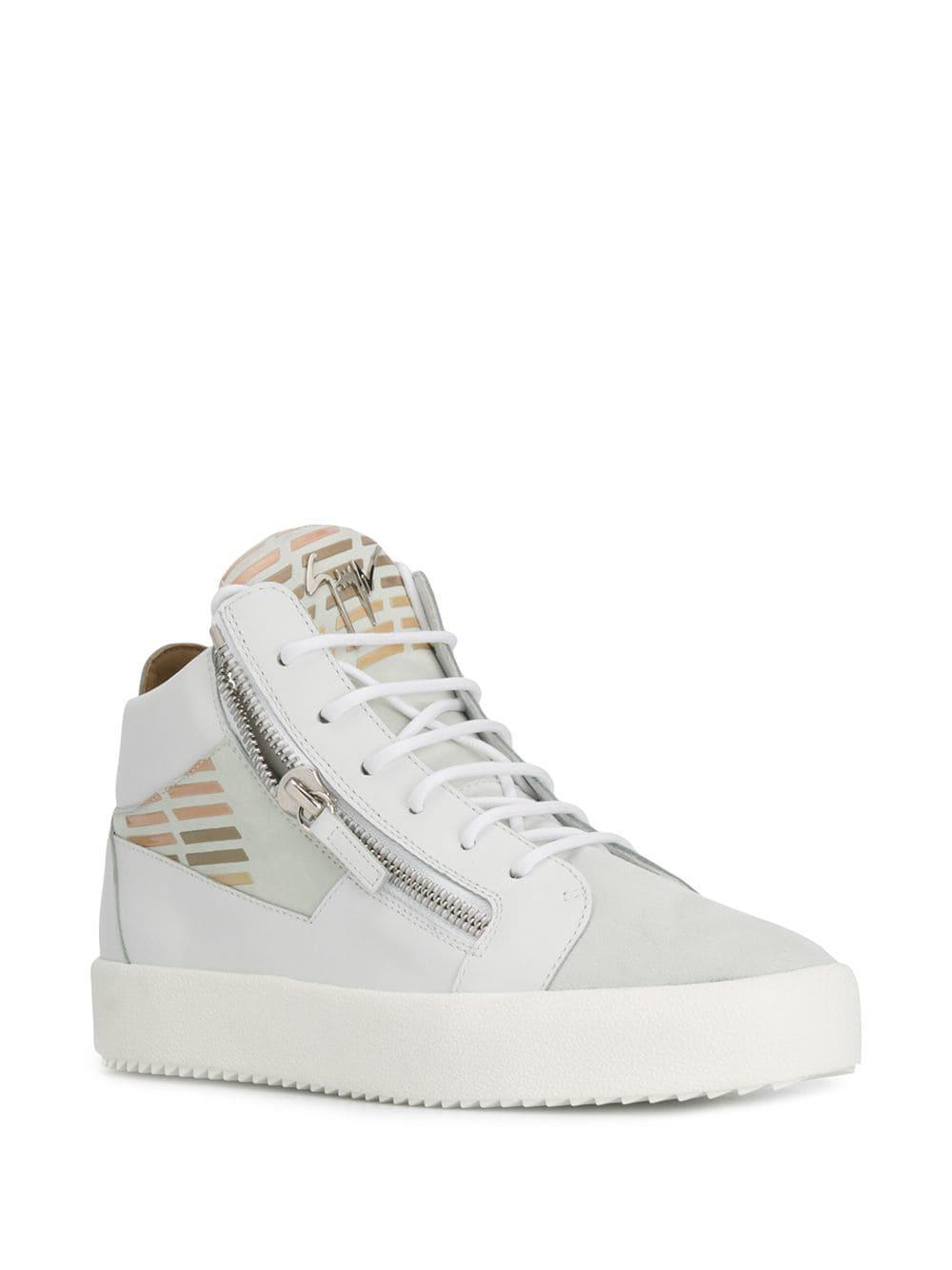 4a29f86128c08 Lyst - Giuseppe Zanotti Kriss Sneakers in White for Men