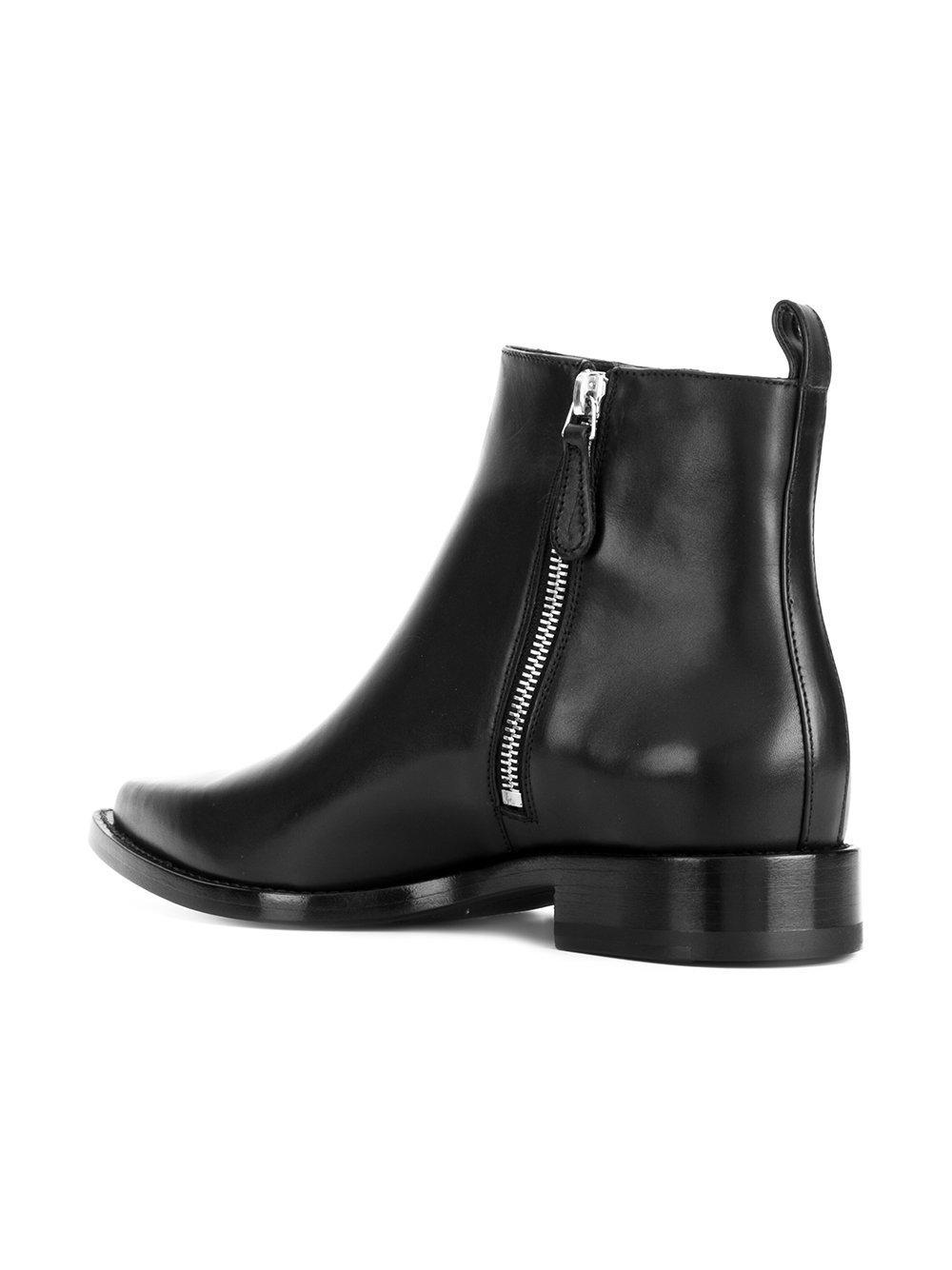 chain and eyelet detail Chelsea boots - Black Alexander McQueen Nicekicks Cheap Price JaG2u