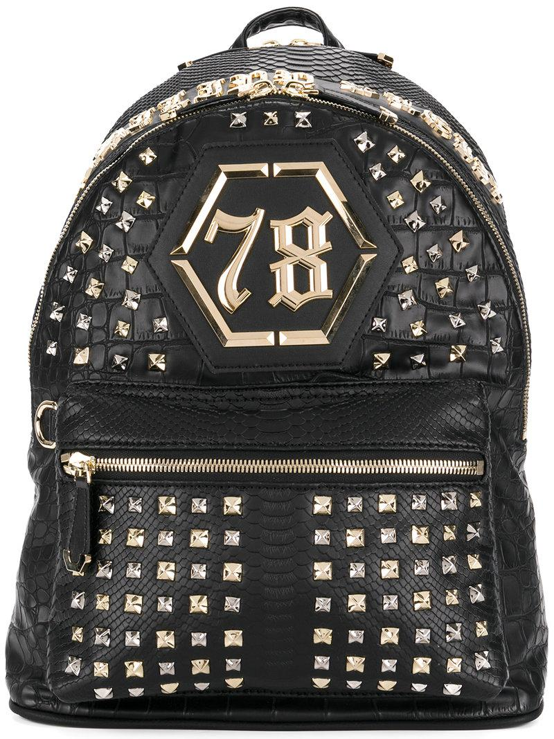 e052c64676a Lyst - Philipp Plein Alaska Backpack in Black for Men