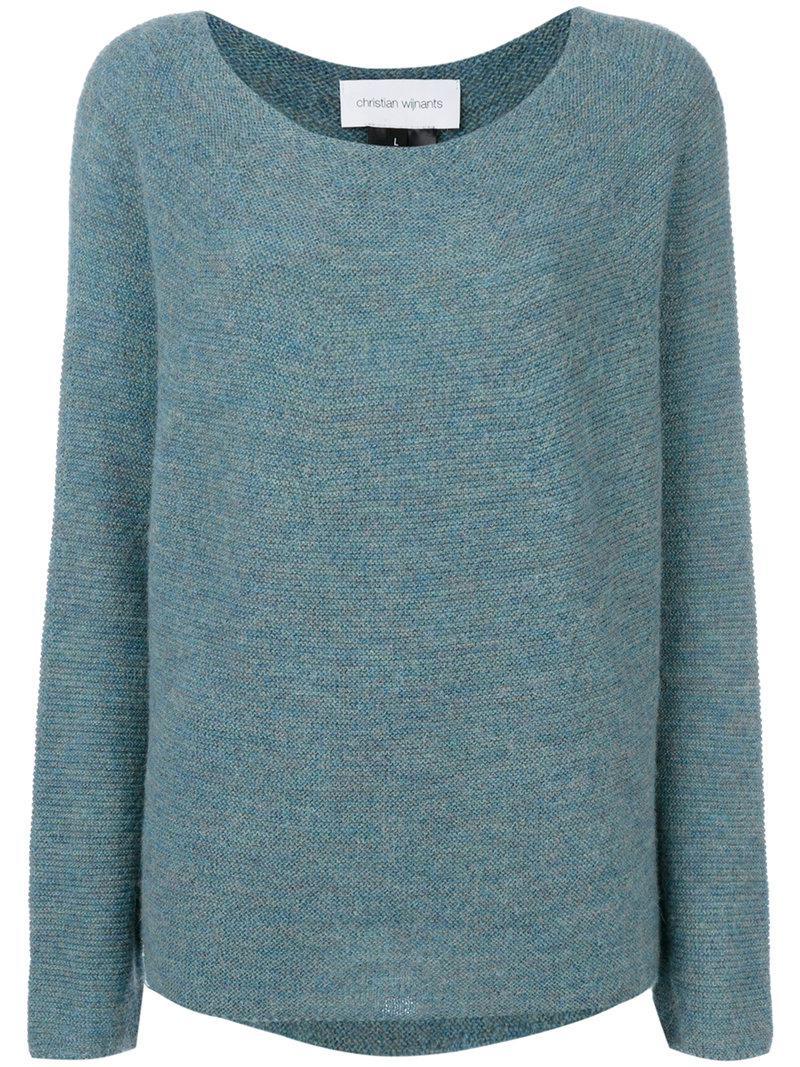 Karwa sweater - Blue Christian Wijnants Cheap 100% Authentic nS6FZ5i3