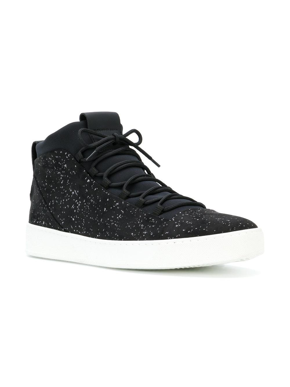 flecked high top sneakers - Black Alexander Smith FCNUF8nF