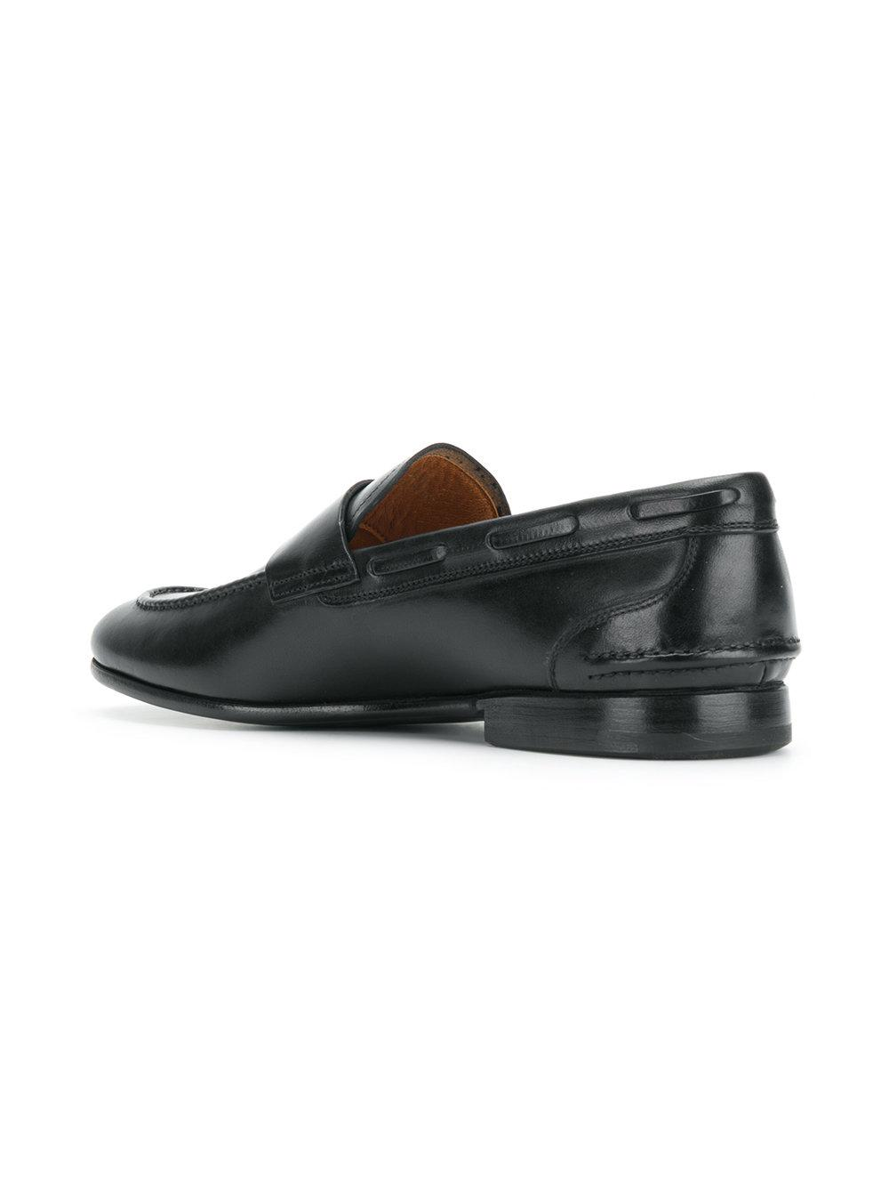 Premiata Penny Loafers in Black for Men - Lyst 302bf75d85d