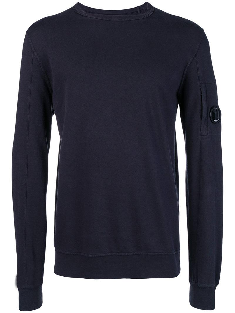 P Button In Sweatshirt Men For Detail C Save Company Blue SPOwZd