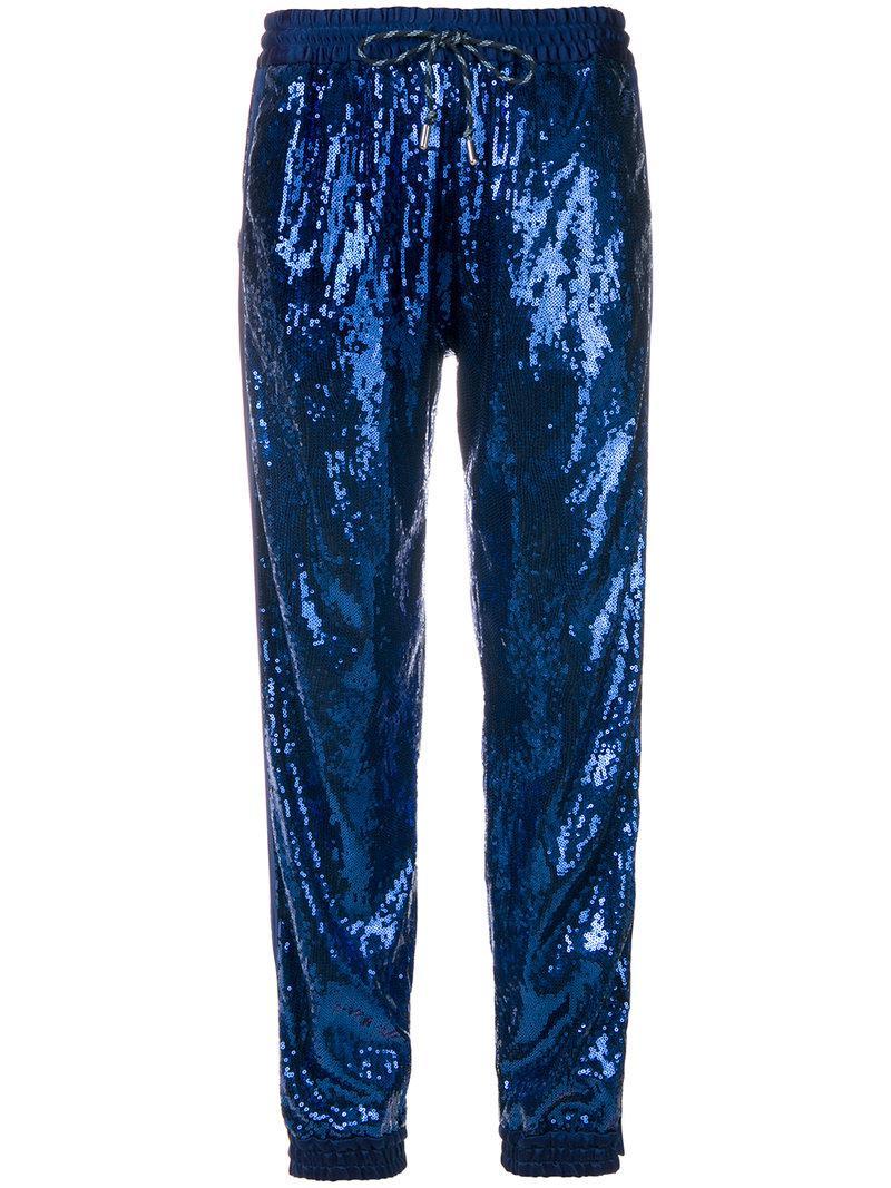 Christian Pellizzari sequin embellished track pants Cheap Finishline TL7z5JcGB