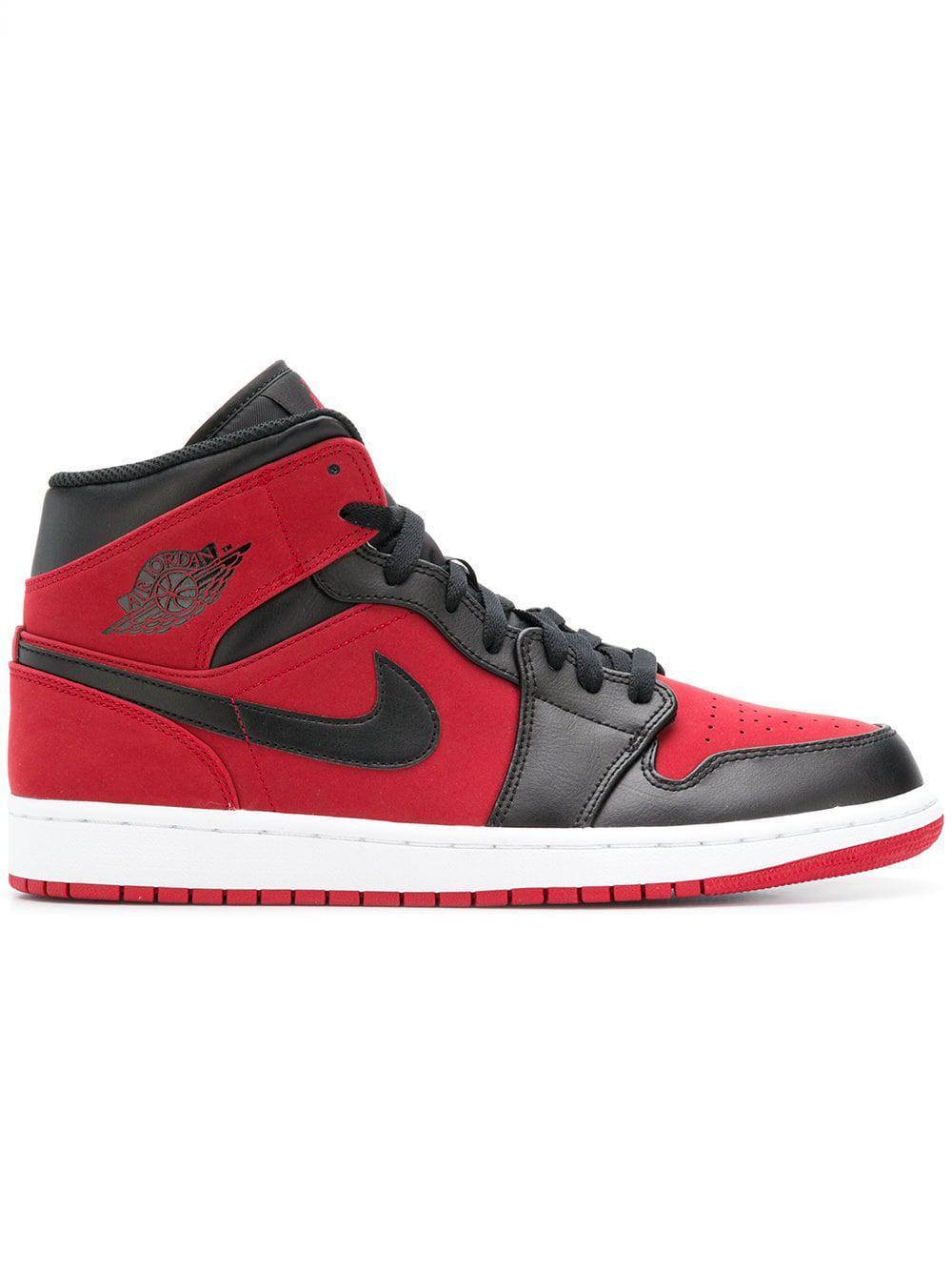 lote Resistente Confidencial  Nike Cuero Zapatillas con cordones y logo en Rojo para hombre - Lyst