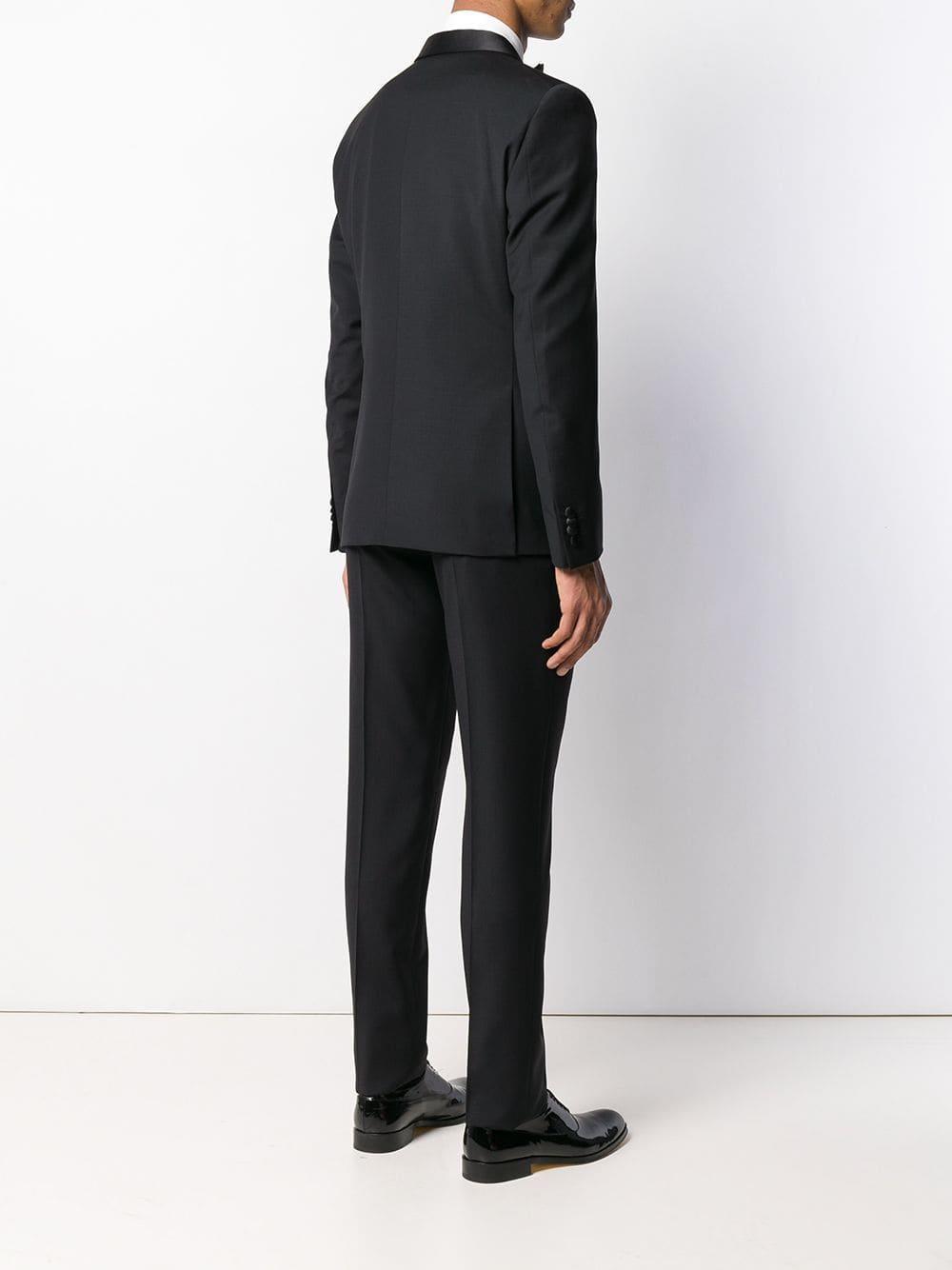 0170e78f6f83 Corneliani - Black Formal Dinner Suit for Men - Lyst. View fullscreen